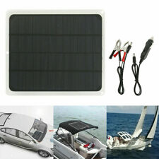 Solar Panel 12v Trickle Charge Battery Charger Maintainer Marine Rv Car Ob19