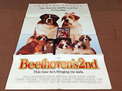 Beethoven/'s 2nd 1994 Movie Poster mp081