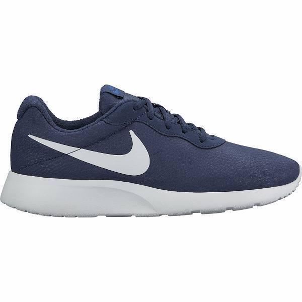 Men's Nike Tanjun Premium Running Shoes Navy/White New In Box Sz 8-12 876899-402