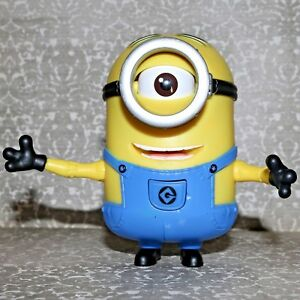 Despicable Me Minion One Eye Stuart Articulated Arms Eye And Mouth