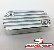 SUNLINE MOTOCROSS MX REAR BRAKE RESERVOIR CAP ALUMINIUM KX RM 125/250/250F 04-07