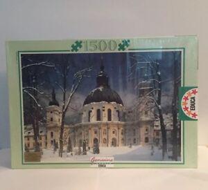 Monastere-de-Ettal-Allemagne-Jigsaw-Puzzle-EDUCA-1500-PIECES-NEW-amp-SEALED