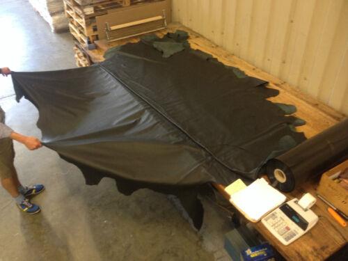 environ 3.81 m² cuir véritable de vache 1.1 mm Noir Ensemble masquer Upholstery Grande qualité supérieure 41 ft²