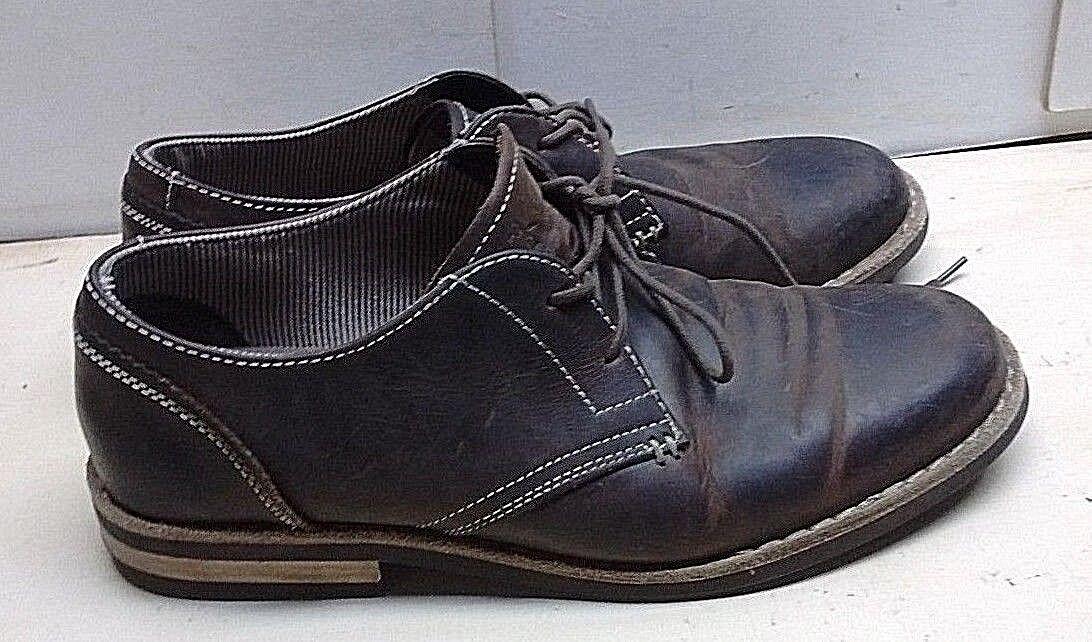 ultimi stili Original Penguin Waylon Uomo Leather nero Oxford Plain Toe Toe Toe Dress Casual scarpe 9M  spedizione veloce a te