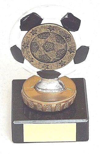 JB104 Football Trophée sur Lourdes Socle Marbre 10 cm gravure gratuite