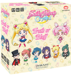 Sailor Moon Crystal PRESALE Truth or Bluff board game New