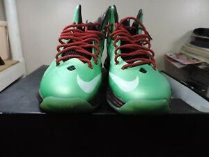 reputable site c636d 3b08a Image is loading Men-039-s-Nike-Lebron-X-10-Tourmaline-