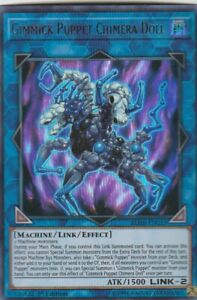 YUGIOH-HOLO-CARD-1-X-GRIMMICK-PUPPET-CHIMERA-DOLL-BLHR-EN053-1ST-EDITION