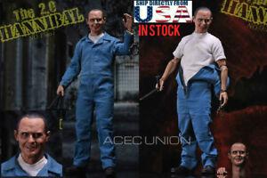 1/6 Le silence des agneaux Dr Hannibal Anthony Hopkins 2.0 Ensemble de figurines Premium