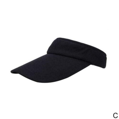 Sunvisor Visor Cap Stirnband Mütze Kappe Tennis Sonnenschutz Hut Damen Herr R8C5