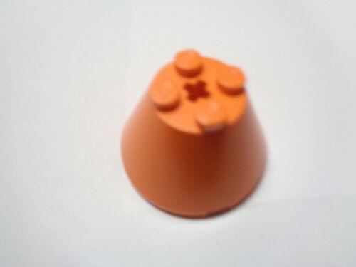 3943 choose color LEGO Brique Cone Réacteur Fusée Round Brick 4x4x2 Cone
