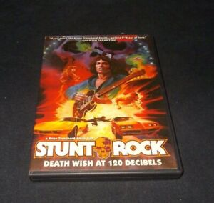 Stunt-Rock-DVD-2-disc-set-VGC-Code-Red-Region-free-Brian-Trenchard-Smith