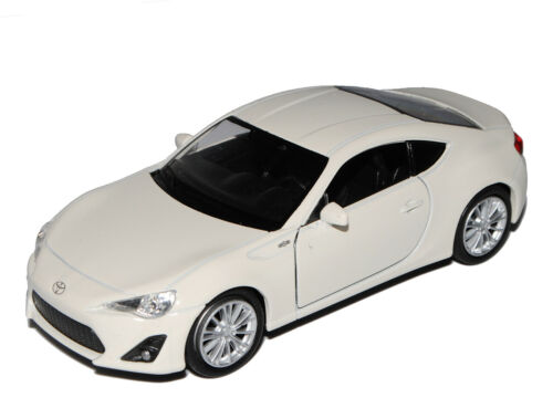 Toyota GT86 Coupe Weiss Ab 2012 ca 1//43 1//36-1//46 Welly Modell Auto mit oder ohn