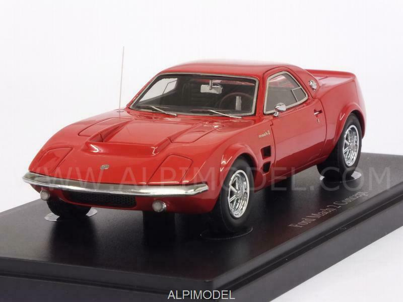 Ford Mach 2 Concept 1967 rouge 1 43 AUTO CULT 06014