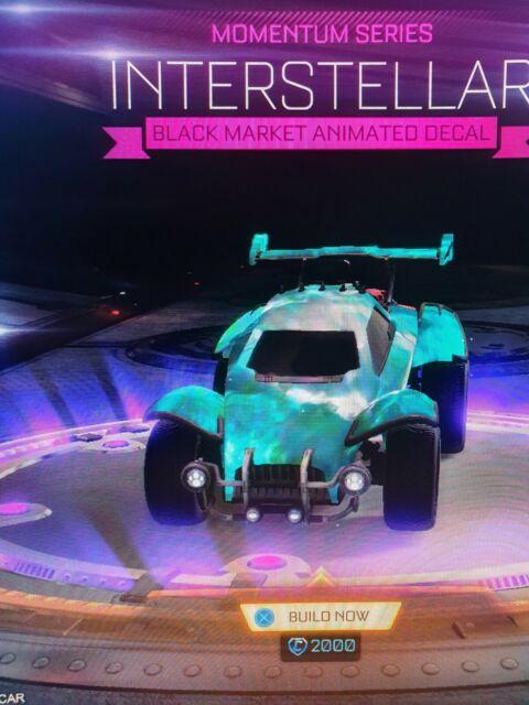 Painted Interstellar Bmd Rocket League Xbox Ebay