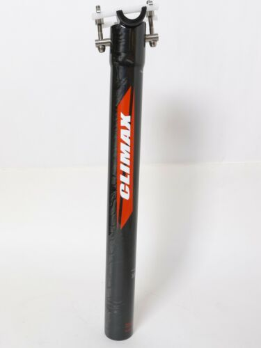 mr-ride 145g,34.9x350 Climax SP02C UD gloss carbon Seatpost Road MTB bike Black