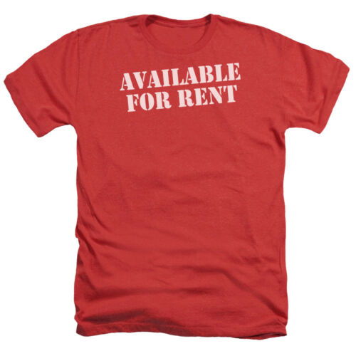 AVAILABLE FOR RENT Humorous Adult Heather T-Shirt All Sizes