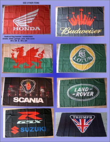 truck cab,shed CASTROL OIL RACING flag banner garage UK shade man cave gift
