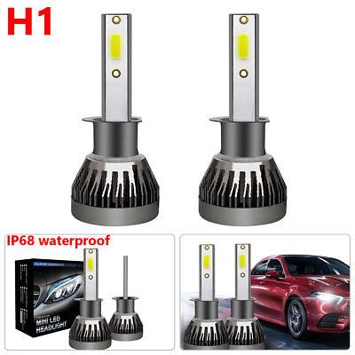1x H1 Car Led Bulb 6000k 3000LM Mini1 Car Led Headlights Car Led Headlights hot