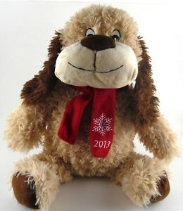 Luv-A-Pet-CHANCE-Collectible-Plush-Brown-Dog-with-Squeaker-for-Pet-or-Human-2013