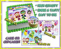 Super Why Edible Cake Toppers Picture Decal Birthday Image Paper Sugar Cupcakes