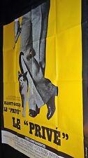 LE PRIVE ! The Long Goodbye Robert Altman  Elliott Gould affiche cinema 1973