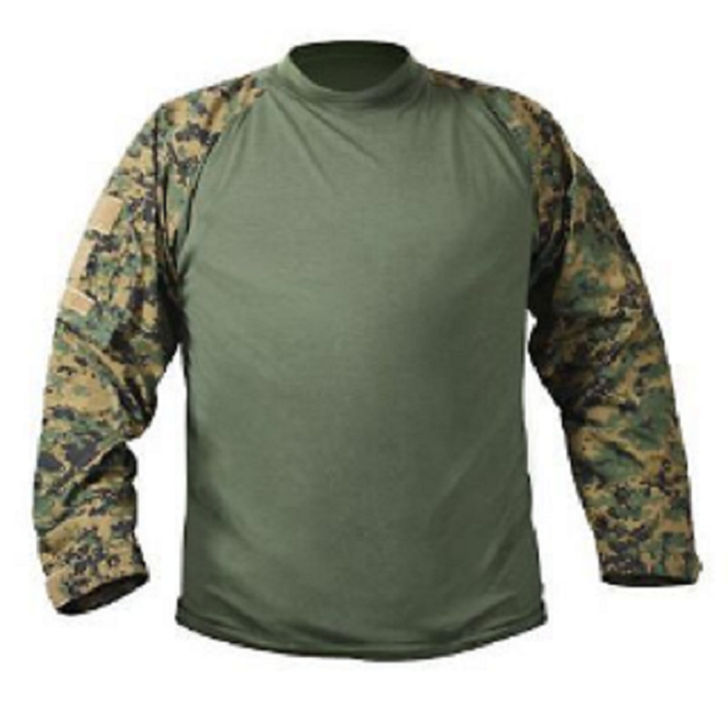 US UCP ACU ACU ACU COMBAT Army USMC MARSOC Woodland Digital MARPAT Einsatz Shirt  L af346e