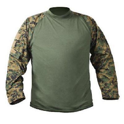 Us Ucp Acu Combat Army Usmc Marsoc Woodland Digital Marpat Einsatz Shirt L