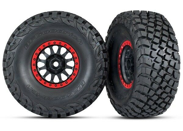 Traxxas Assembled BFGoodrich Tires Method Racing Wheels  2  - TRA8474