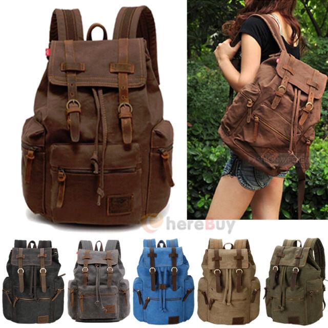 Bag Backpack Travel Sport Rucksack Hiking Shoulder Sports Men School Pack