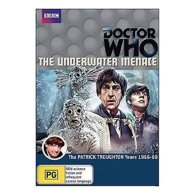 Doctor Who: The Underwater Menace DVD Brand New Region 4 Aust. Patrick Troughton