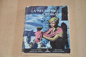 La-Neuvieme-Croisade-Alsatia-Signe-de-piste-ill-P-Joubert-1956