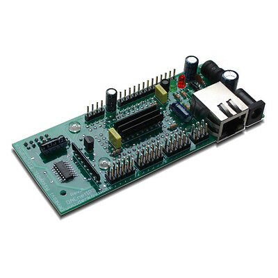 Web Telnet TCP//IP Ethernet Data Acquisition 32 analog//digital I//O controller