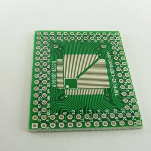 SOP to DIP PCB Adapter Board Converter Pin Plate SO TSSOP MSOP SOT QFP TQFP LQFP