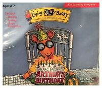 Arthur's Birthday For Pc - Brand Sealed - Free U.s. Shipping - Nice
