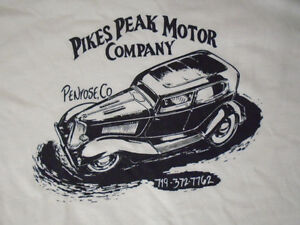 Image Is Loading Pikes Peak Motor Co Hot Rod T Shirt