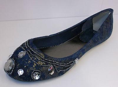 De Chica Spot On Vaquero Joya Zapatos SIN CIERRES h2286