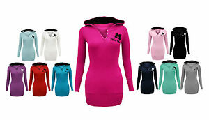 Womens-New-Miss-Sexy-Hooded-Long-Sleeve-T-Shirt-Hoodie-Jumper-Top-Plus-Size-8-20