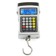 50kg/10g Portable LCD Digital Hanging Luggage Travel Electronic Scale Calculator