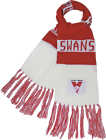 Sydney Swans AFL Football Bar Scarf 150cm X 20cm
