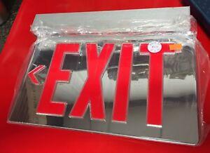 Details About Lithonia Lighting Exit Sign Lrp 1 Rmr La 120 277 Pnl Led Single Face