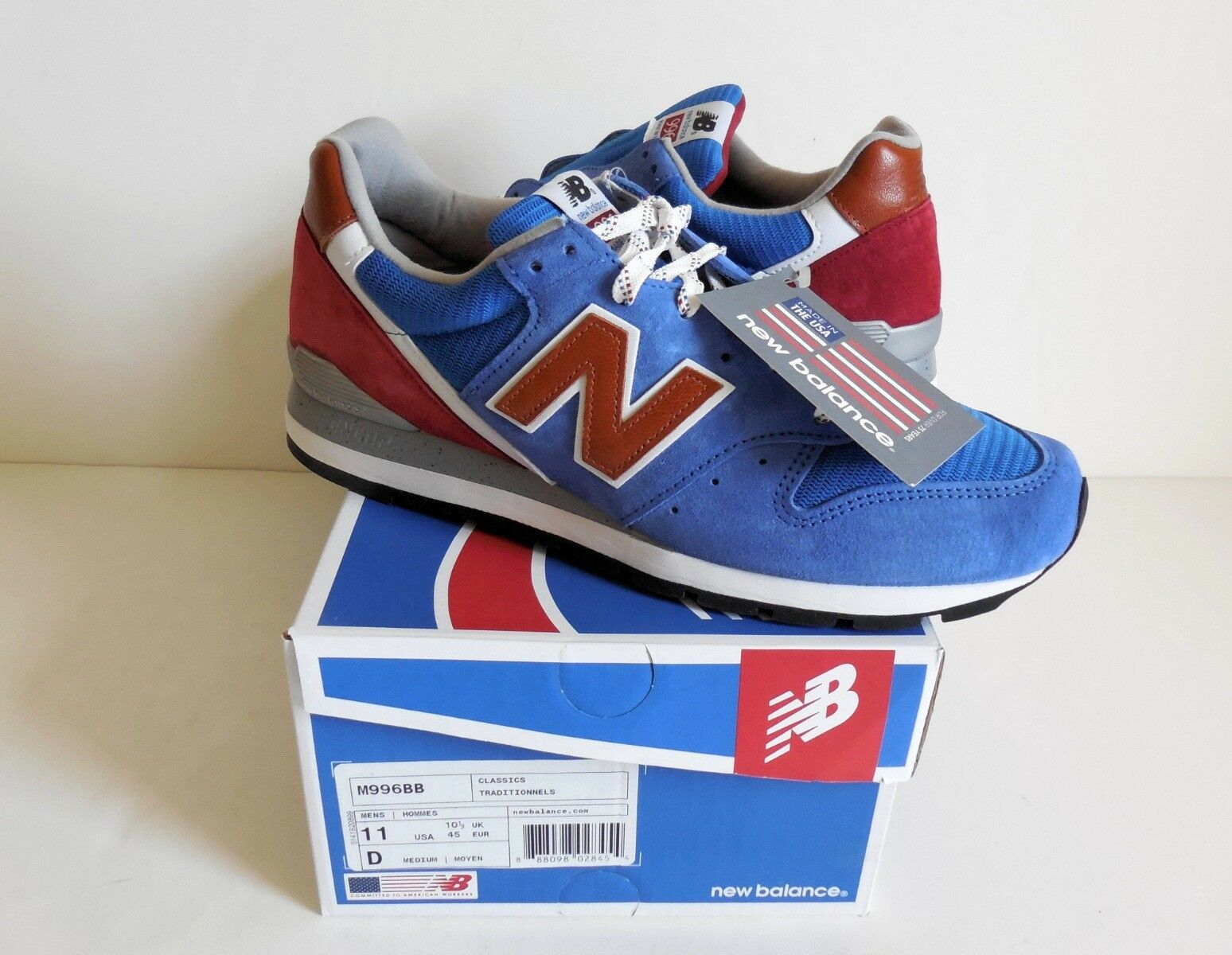 New Balance M996BB  Bringback  Made in The USA Men's shoes 11D New