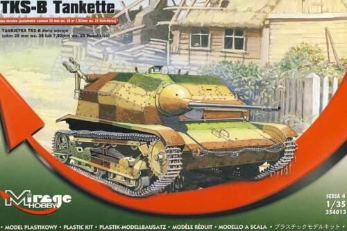 Mirage Hobby Panzer tankette TKS-B Modell-Bausatz 1:35 Hochkiss wz.25//38 NEU kit