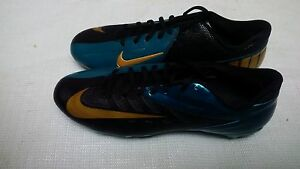 09c684302908 Nike Vapor Pro Low D Football Cleats Style 544760-015 Jacksonville Jaguars  $100+