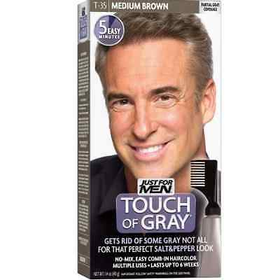 JUST FOR MEN Touch of Gray Haircolor T-35 Medium Brown, 1 Each 11509041364  | eBay