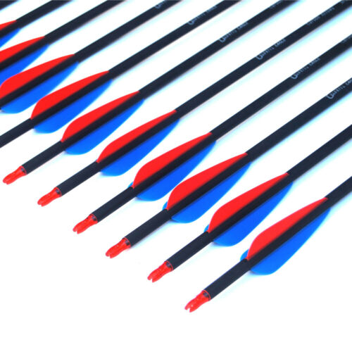 """28//30//31/"""" carbon arrows SP 500 hunting arrows Archery Screw-In Tip for Bow Arrow"""