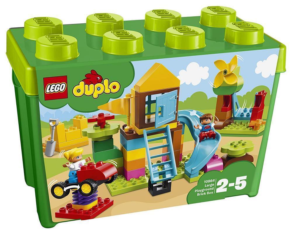 LEGO Duplo 10864 Steinebox Große Steine Kinder Spielzeug für Jungen/Mädchen ab 2