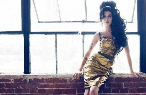 Amy Winehouse Music Star Singer Poster Art Fabric Hot Decor X-467