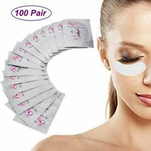 Details About Eyelash Extension Pads Lint Free Under Eye Pads For Eye Mask Eyelash Diy Makeup