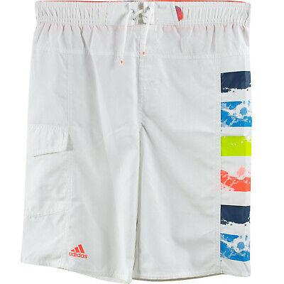 Efficiente Costume Da Bagno Adidas Bambino Junior X29220 Bianco Infrared Mare Piscina Ultima Tecnologia